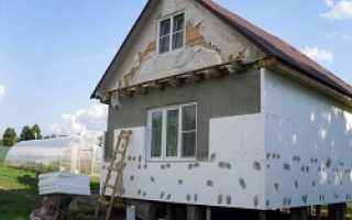 Чем лучше утеплить дом из пеноблоков снаружи
