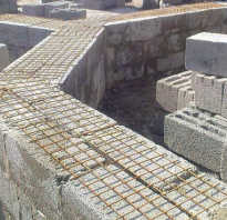 Способы армирования стен из пеноблоков