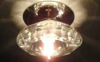 Монтаж потолочных светильников для ванной своими руками