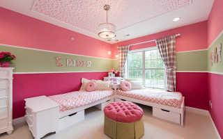 Как правильно покрасить детскую комнату