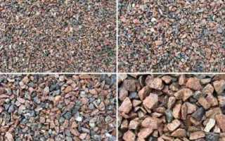 Соотношение компонентов для приготовления бетона