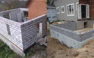 Как изготавливается фундамент для двухэтажного дома?