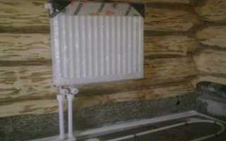 Способы установки радиаторов и обвязки
