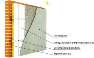 Как выполнить внутреннее утепление кирпичных стен