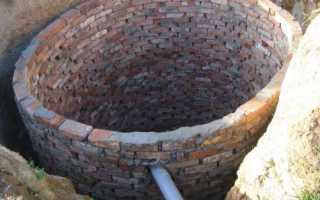 Устройство туалета из кирпича