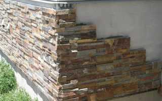 Как отделать цоколь дома искусственным камнем