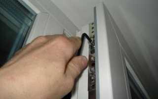 Как починить балконную пластиковую дверь