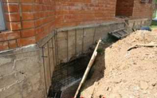 Способы ремонта фундамента старого деревянного дома