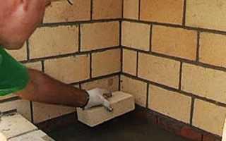 Технология кладки шамотного кирпича