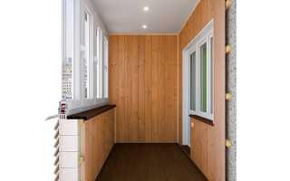 Ремонт открытого балкона без остекления