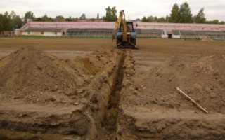 Технология монтажа трубопровода в земле