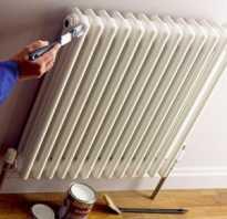 Как и чем покрасить радиаторы?