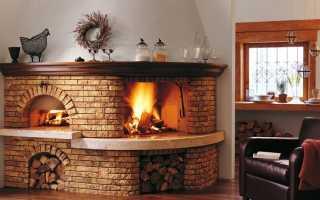 Особенности конструкций кирпичных печей для дома
