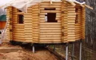 Как построить столбчатый фундамент для собственной бани?