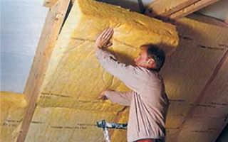 Как выполнить утепление мансардной крыши изнутри