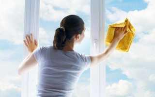 Каким средством мыть пластиковые окна