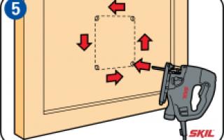 Как сделать в двери проход для кошки