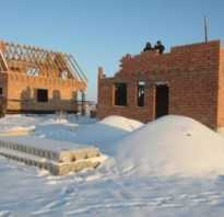 Приготовление зимнего раствора для кладки кирпича