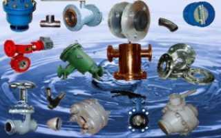 Классификация трубопроводной промышленной арматуры