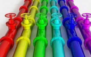 Как подбирается материал чтобы окрасить трубы