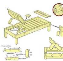 Как изготовить шезлонг деревянный своими руками