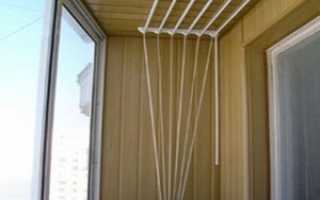 Выбор потолочной сушилки для белья – инструкция по установке