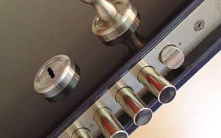 Как вытащить замок из металлической двери