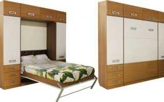 Кровать шкаф трансформер своими руками из ЛДСП