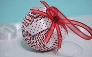 Как легко сделать шар из пенопласта?