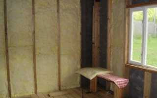 Как выполнить утепление стен минватой изнутри?