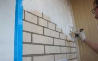 Чем лучше покрасить кирпичную стену