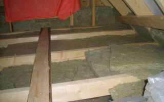 Расчет толщины утеплителя для крыши