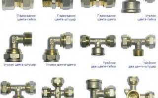 Металлопластик Способы соединения труб