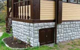 Облицовка цоколя кирпичом как способ защитить здание