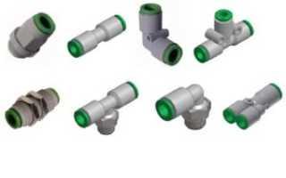 Медные трубы Соединение с помощью резьбовых фитингов
