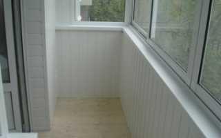 Как лучше сделать балкон внутри