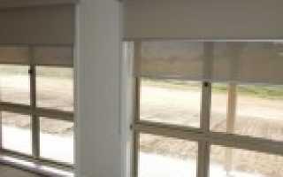 Двойные рулонные шторы на пластиковые окна