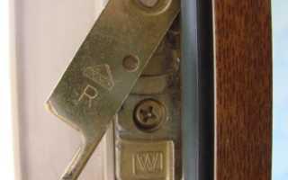 Ремонт механизма открывания пластиковых окон