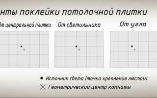 Видеоинструкция клеим потолочную плитку по диагонали