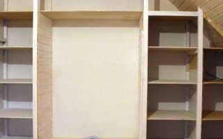 Деревянный шкаф изготовление своими руками