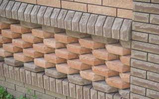 Последовательность работ по отделке фундамента дома под камень