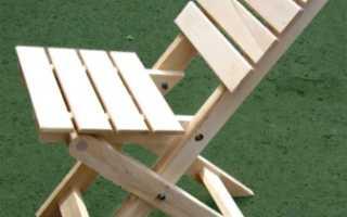 Как изготовить раскладной стул своими руками