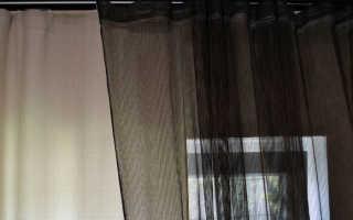 Раскрой и пошив шторы своими руками