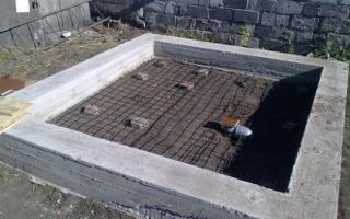 Как правильно определить глубину фундамента под дом из пеноблоков?