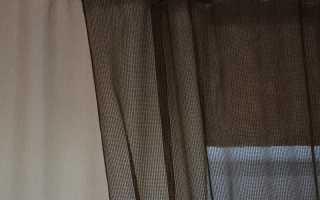 Пошив простых штор и ламбрекенов своими руками