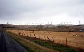 Энергия ветра использование