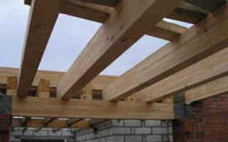 Подбор балок для деревянного потолочного перекрытия