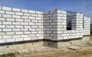 Технология возведения стен из пеноблоков