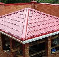 Делаем самостоятельно четырехскатную крышу