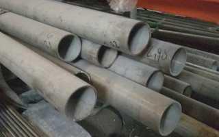 Характеристики тонкостенных труб из нержавейки
